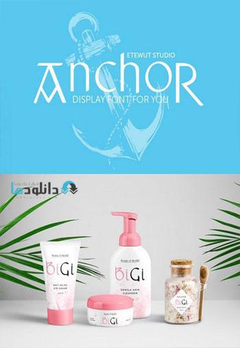 Anchor-Display-Font