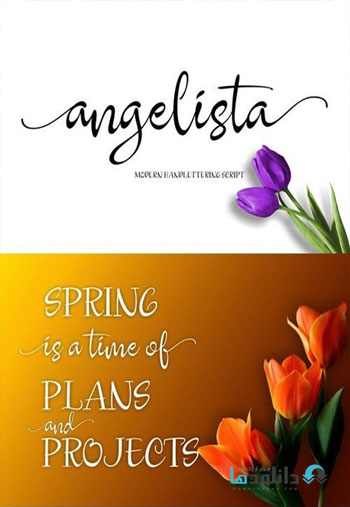 Angelista-Script-Font