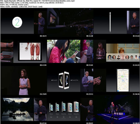 Apple Keynote  iPhone 6s, i دانلود کنفرانس Apple Hey Siri