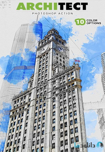 Architect-Photoshop-Action