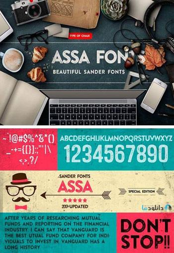 Assa-Fonts