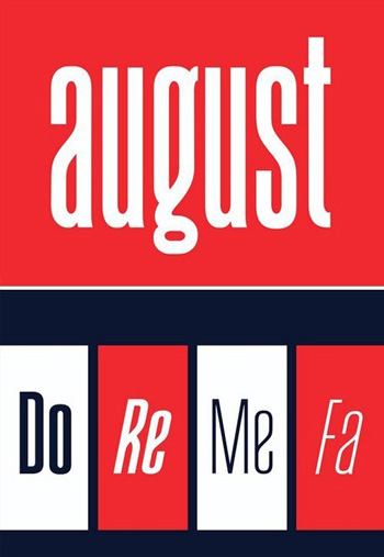 August-Typeface