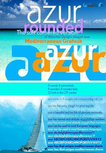 Azur-Fonts