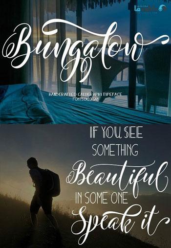 BUNGALOWSA-font