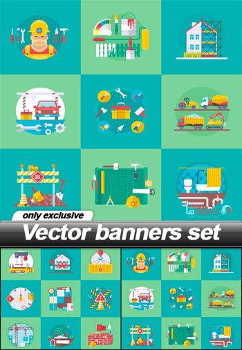 Banners-set