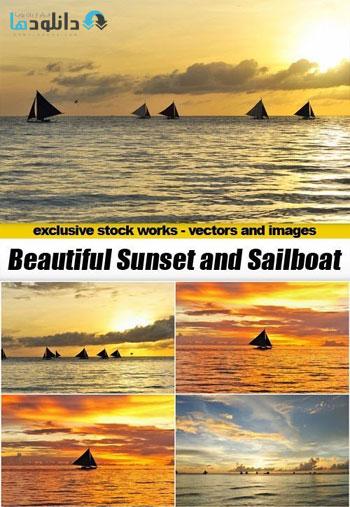 Beautiful-Sunset-and-Sailbo
