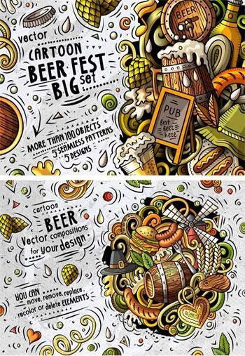 Beer-Fest-Cartoon-Vector-Pa