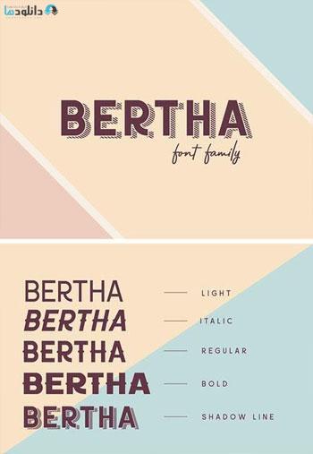 Bertha-Font-Family
