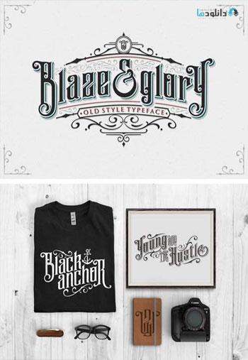 Blaze-And-Glory-Typeface