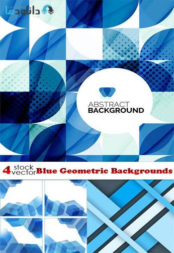 Blue-Geometric-Backgrounds