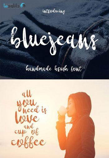 Bluejeans-Font