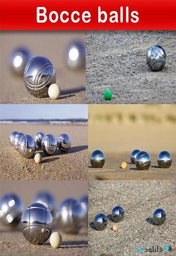 استوک-Bocce-balls