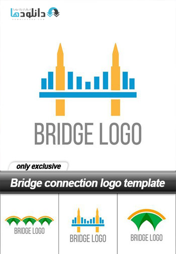 Bridge-connection-logo-template