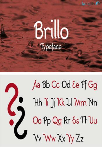 Brillo-Font