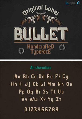 Bullet-Typeface