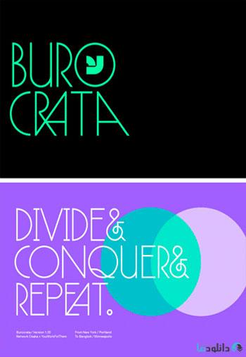 Burocrata-Font
