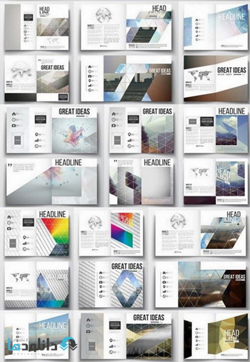 Business-Card-Brochure-Flyer-Poster-Cover-Of-Layout-Vector