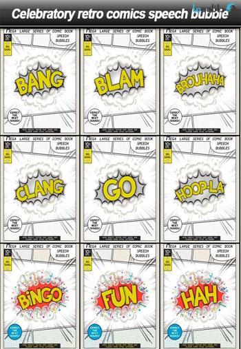 Celebratory-retro-comics