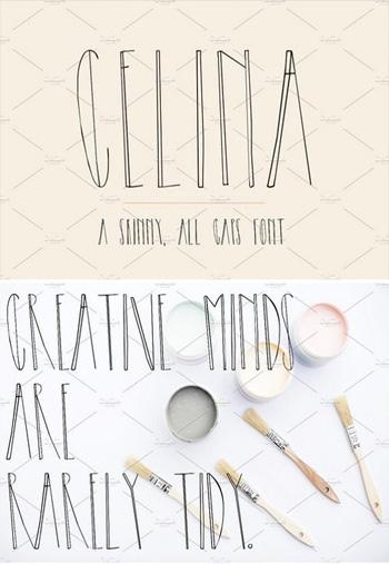 celina-sans-serif-font