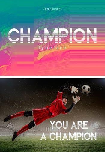 Champion-Typeface