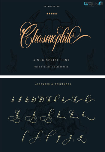Chasmophile-Font