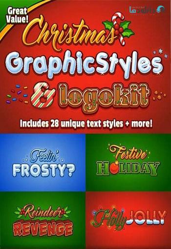 Christmas-Graphic-Styles-&-Logo-Kit