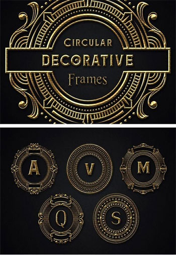 Circular-Decorative-Frames