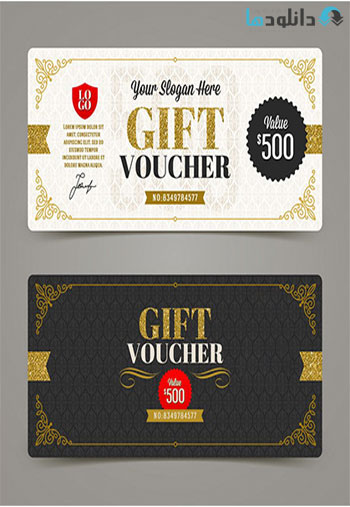 Classic-Style-Gift-Cards-Vector