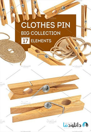 Clothes-pin-and-rope