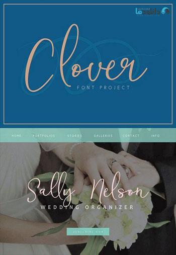 Clover-Font