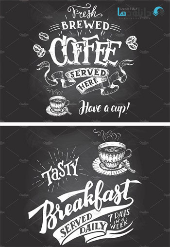 Coffee-Chalkboard-Signs-Set