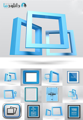 Collection-Of-Photo-Frame-Decorative-Element-Vector