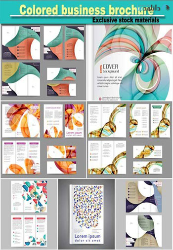 Colored-business-brochure