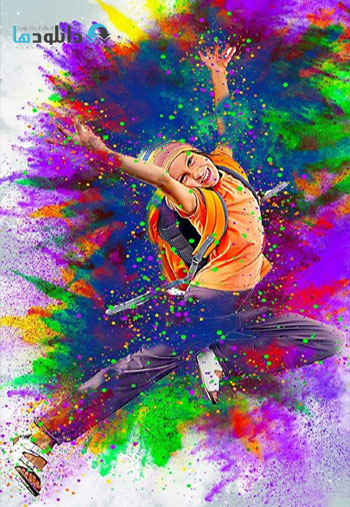 Colorful-Powder-Explosion-Action