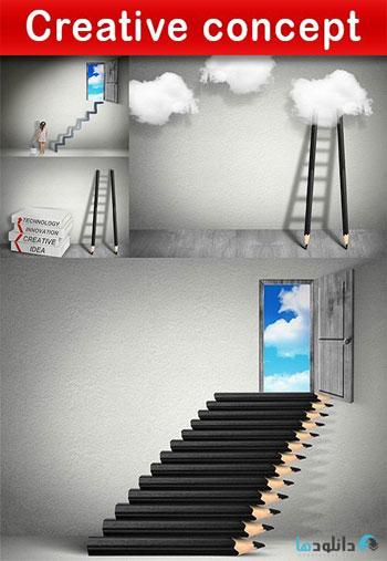 استوک-Creative-concept