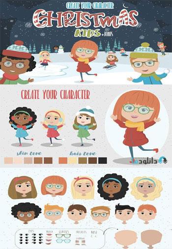 Creator-Christmas-kids-char