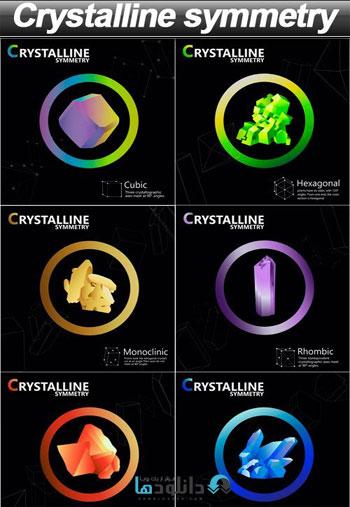 Crystalline-symmetry-Vector
