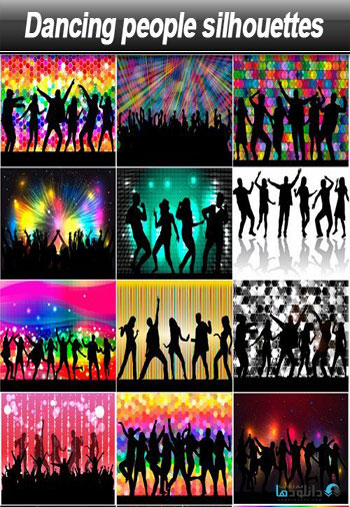 Dancing-people-silhouettes