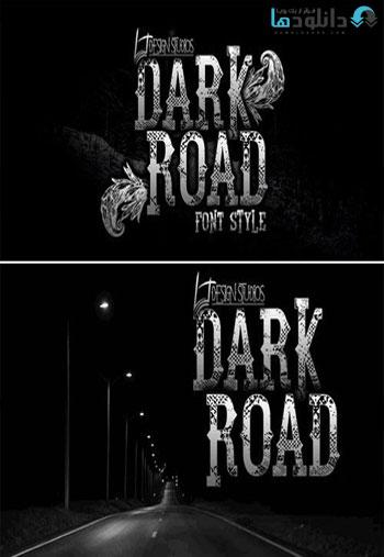 /Dark-Road-Font