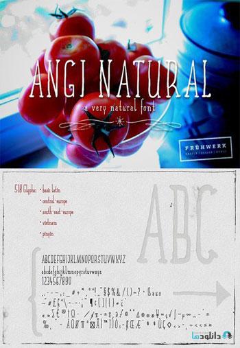 Angi-Natural-font