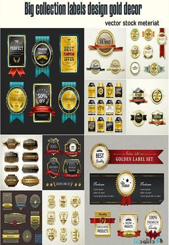 Big-collection-labels-design