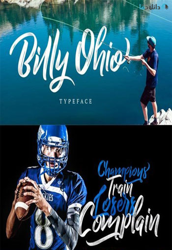 Billy-Ohio-Font