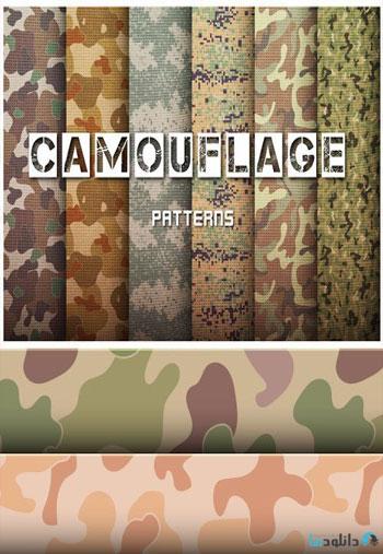 Camouflage-Patterns-Set