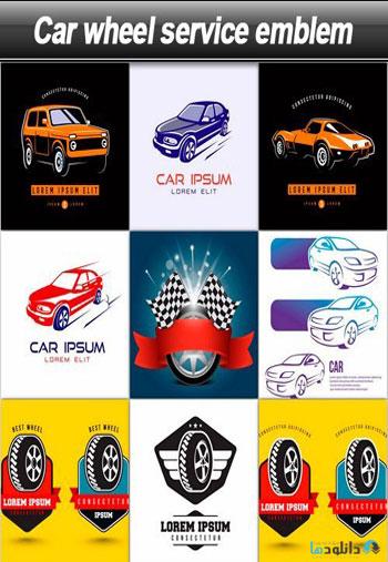 Car-wheel-service-emblem