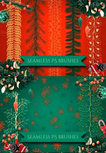 Christmas-Garlands-PS-Brush