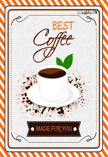 Coffee-theme-posters-vector