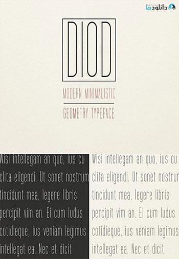 DIOD-Typeface