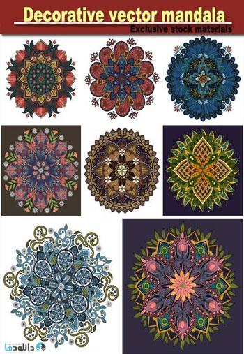 Decorative-vector-mandala