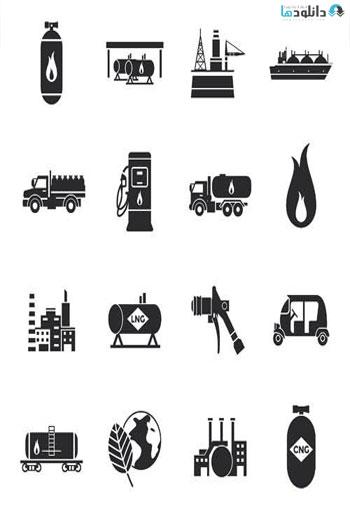 Gas-Black-Icons