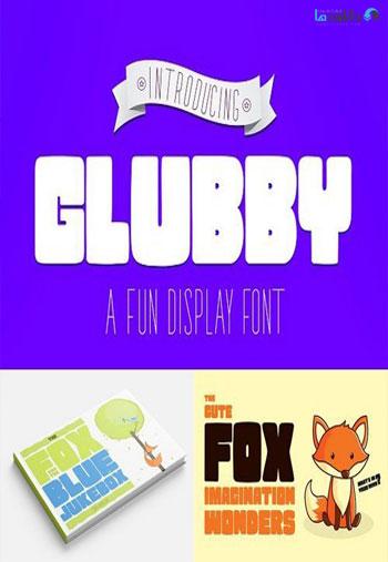 Glubby-Font